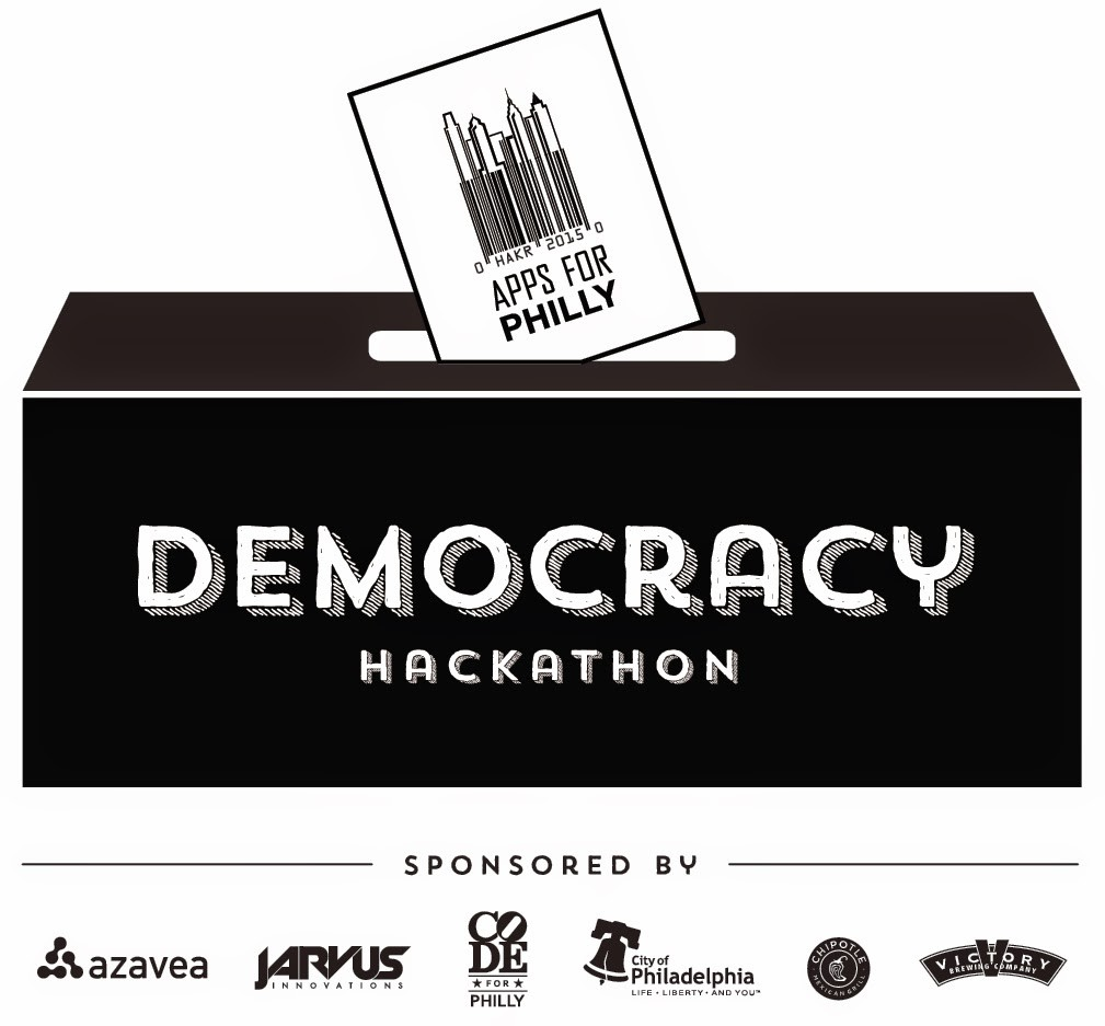 Apps for Philly Democracy 2015 Logo